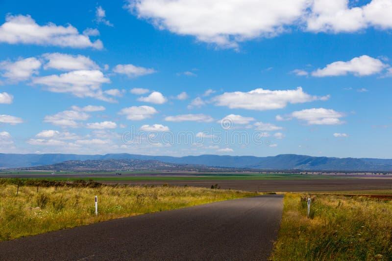 Vista di pianure di Liverpool in Australia fotografia stock libera da diritti