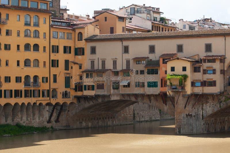 Vista di Ponte Vecchio Firenze, Italia fotografie stock