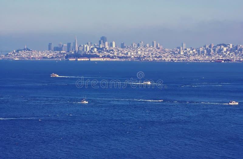 Vista di San Francisco, California fotografia stock