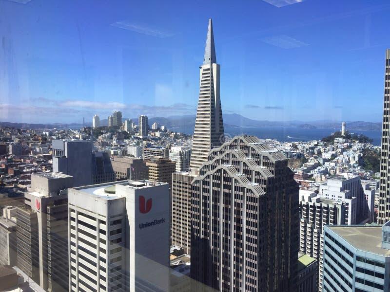 Vista di SF fotografia stock libera da diritti