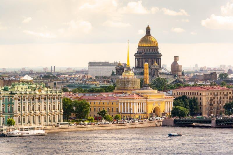Vista di St Petersburg immagine stock libera da diritti