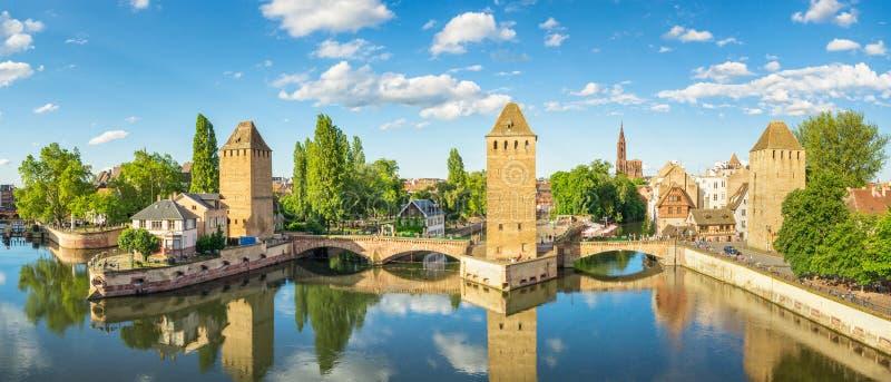 Vista di Strasburgo, Francia fotografia stock