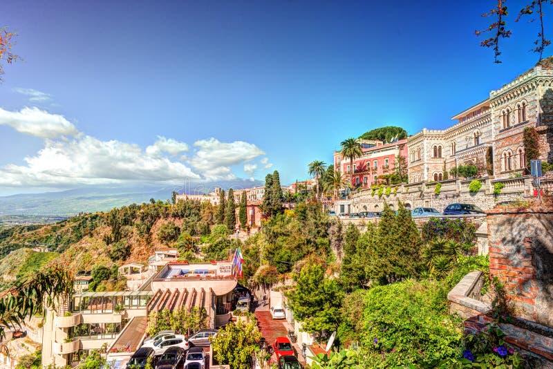 Vista Di Taormina - Località Di Soggiorno Famosa In Sicilia ...