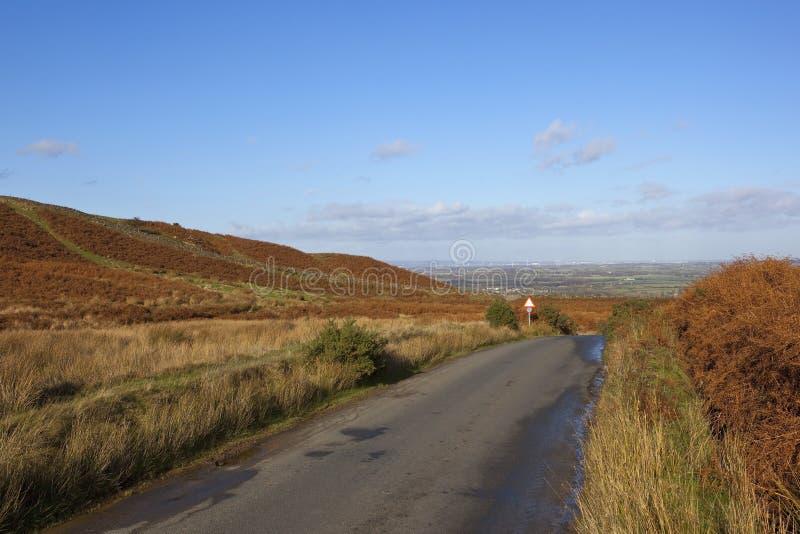 Vista di Teeside fotografia stock libera da diritti