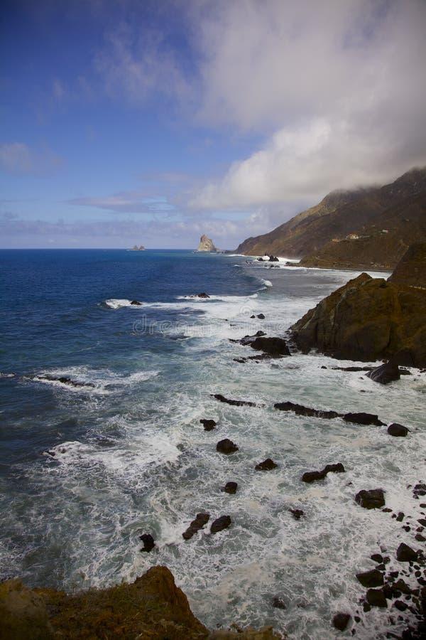 Vista di Tenerife illustrazione vettoriale