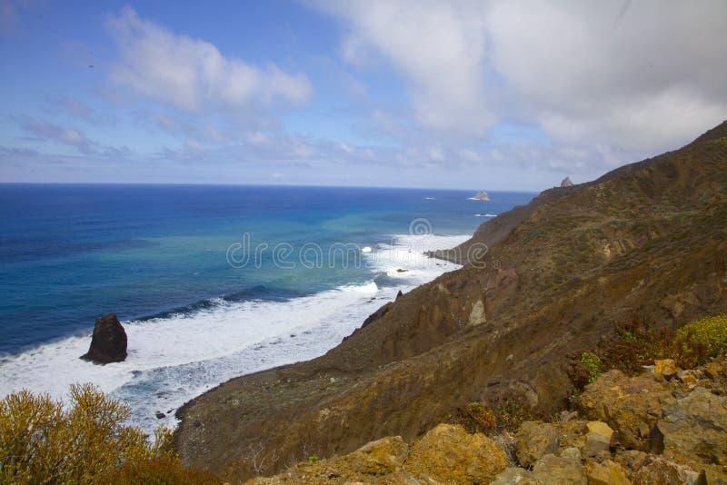 Vista di Tenerife illustrazione di stock