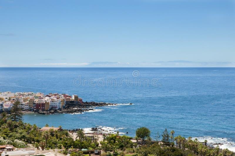 Vista di Tenerife immagini stock libere da diritti