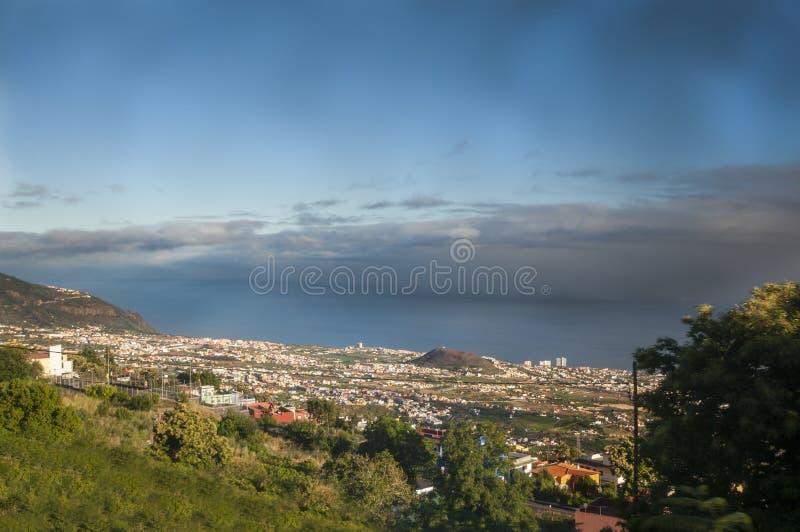Vista di Tenerife fotografia stock libera da diritti