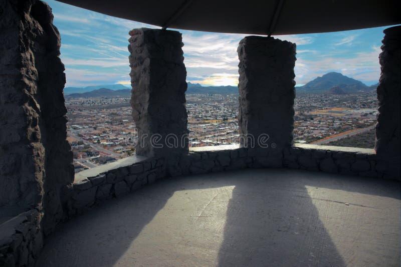 Vista di Tuscon fotografia stock libera da diritti