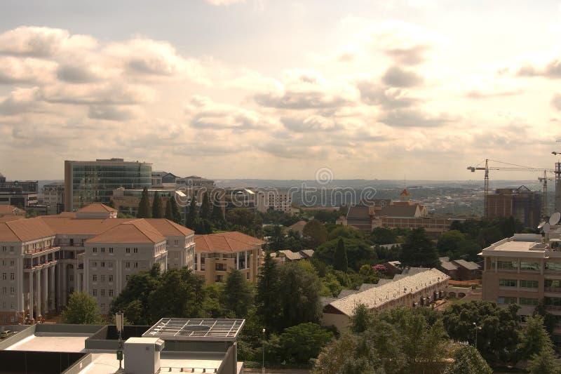 Vista di una città immagine stock libera da diritti