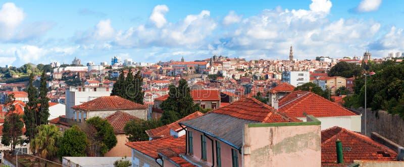 Vista di vecchia città di Oporto, Portogallo immagine stock libera da diritti