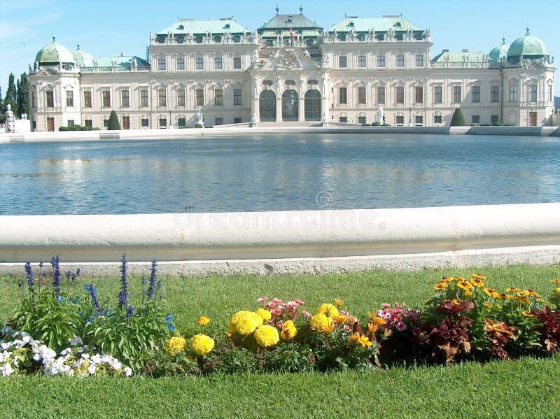 Vista di Vienna fotografie stock