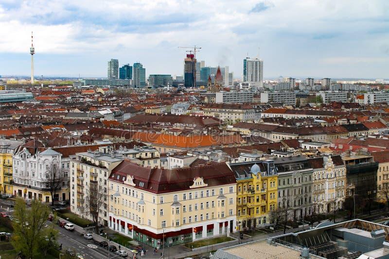 Vista di Vienna immagine stock