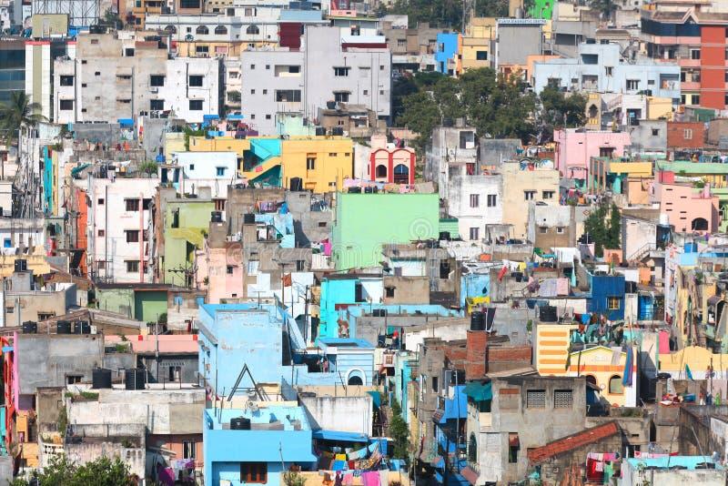 Vista di Visakhapatnam fotografie stock