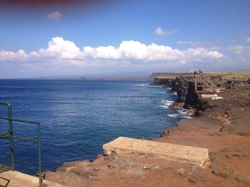 Vista 2 di vita delle Hawai immagini stock