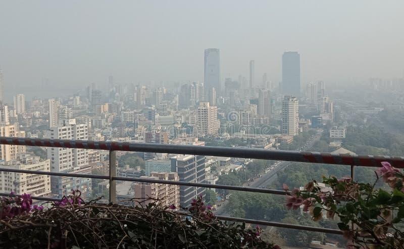 Vista do 25° andar Mumbai fotografia de stock