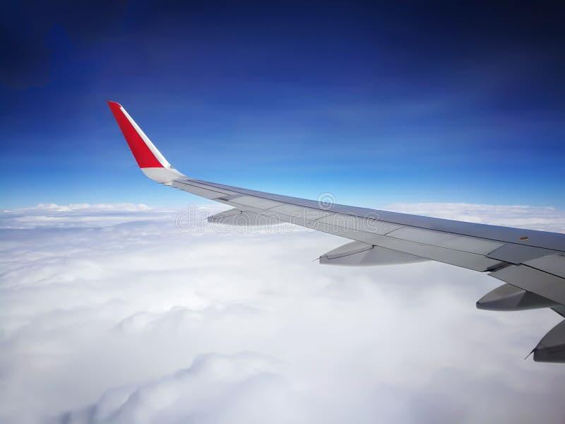 Vista do avião E fotografia de stock royalty free