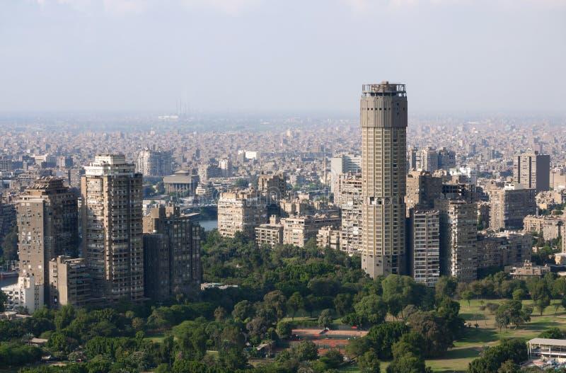Vista do Cairo fotos de stock