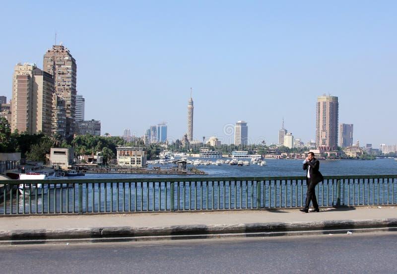 Vista do Cairo fotos de stock royalty free