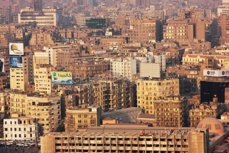 Vista do Cairo foto de stock