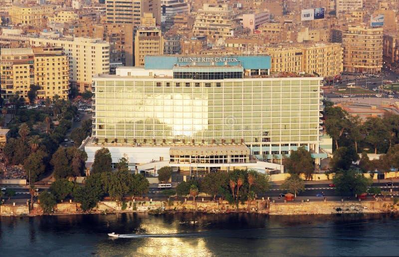 Vista do Cairo fotografia de stock