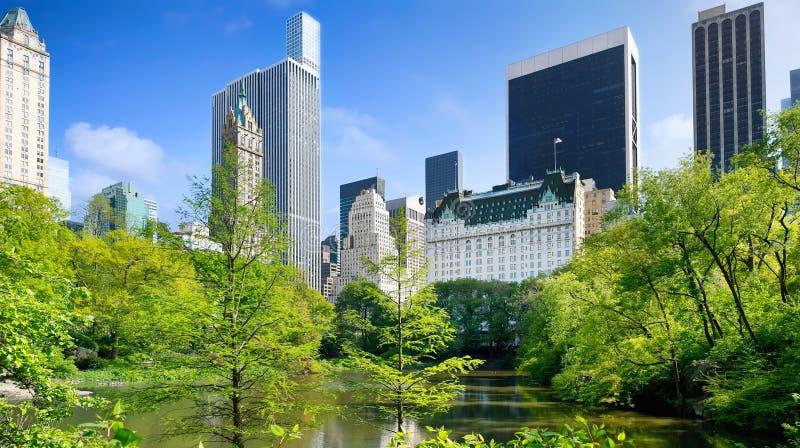 Vista do Central Park, Manhattan, NYC imagens de stock royalty free