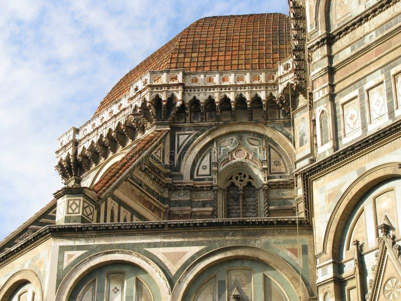 Vista do domo em Florença imagens de stock royalty free