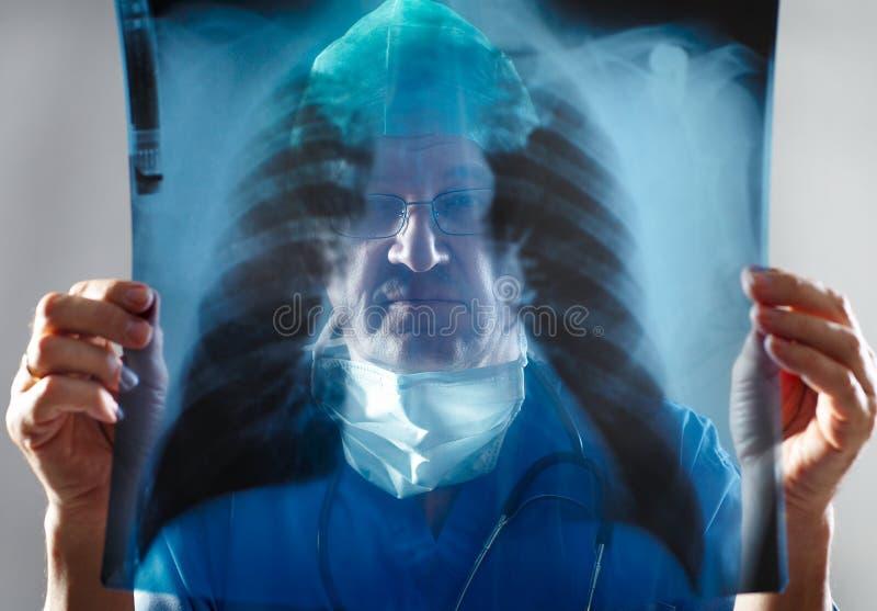 Vista do doutor imagem de stock
