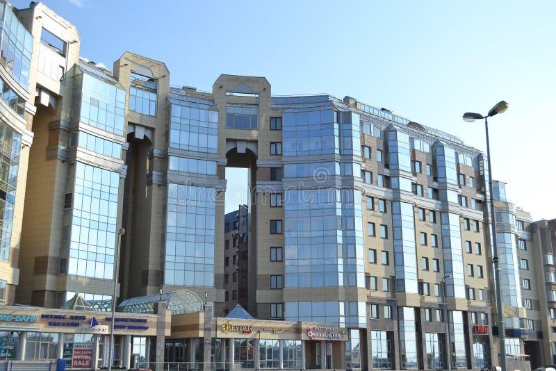 Vista do edifício moderno imagem de stock