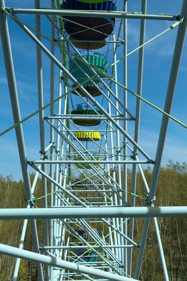 Vista do Ferris fotografia de stock