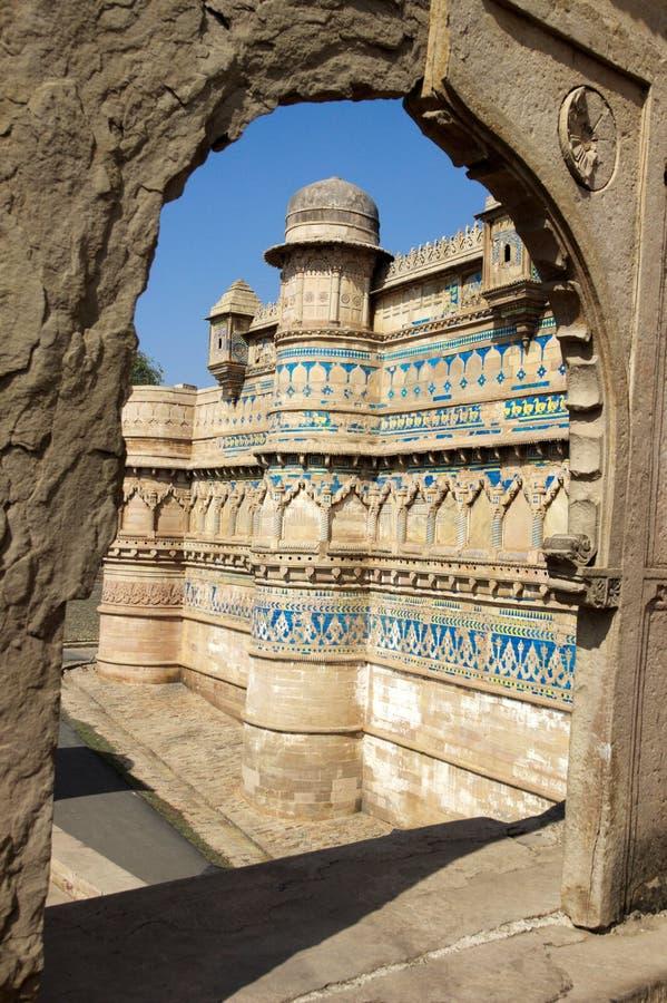Vista do forte através da entrada foto de stock royalty free