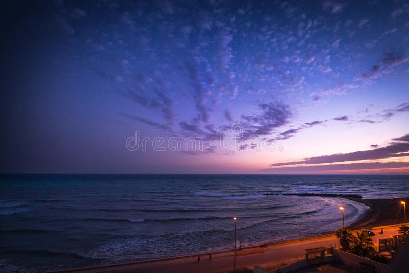 Vista do hotel, Sicília fotos de stock royalty free