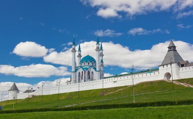 Vista do Kremlin de Kazan imagem de stock royalty free