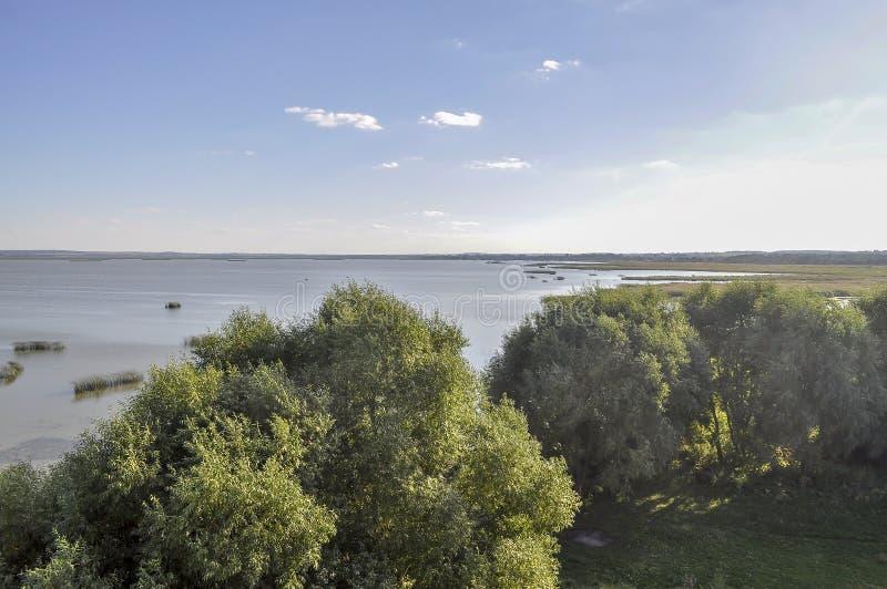 Vista do lago Nero no verão imagens de stock