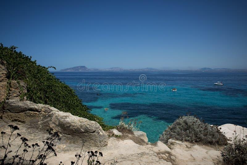 Vista do mar fotografia de stock royalty free
