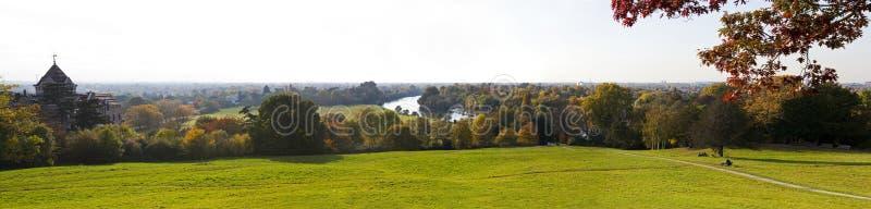 Vista do monte de Richmond imagens de stock royalty free