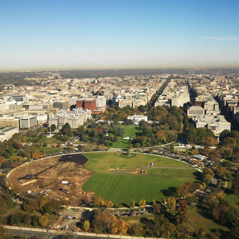 Vista do monumento de Washington imagem de stock royalty free