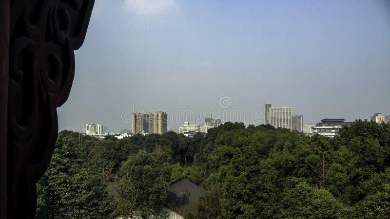 Vista do pagode imagem de stock royalty free