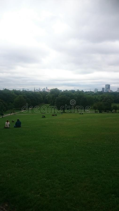Vista do parque imagens de stock royalty free