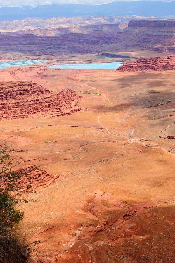 Vista do parque de estado do cavalo inoperante, Utá fotos de stock royalty free