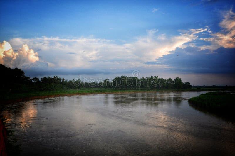 Vista do rio imagem de stock royalty free