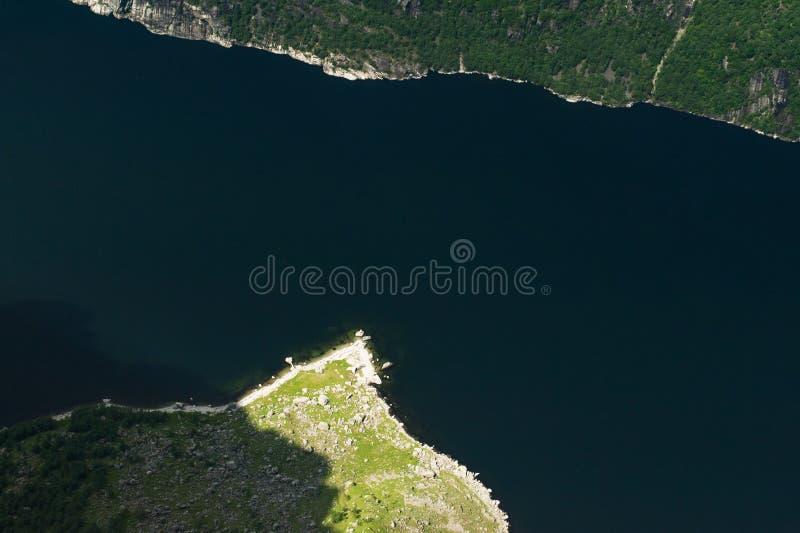 vista do rio e majestoso aéreos imagem de stock royalty free