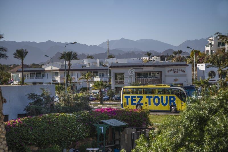 Vista do telhado do hotel fotos de stock royalty free