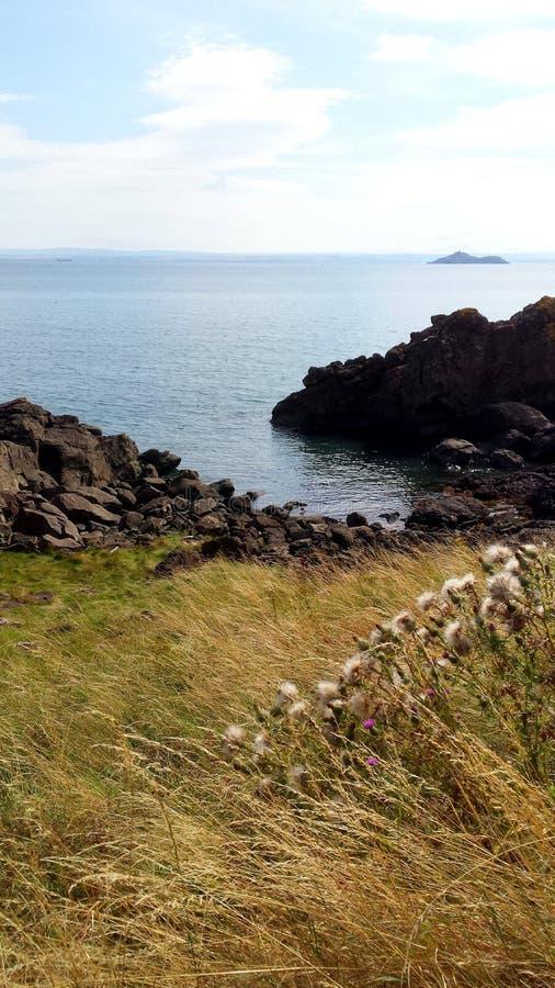 Vista do trajeto litoral fotos de stock