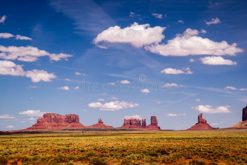 Vista do vale do monumento fotos de stock royalty free