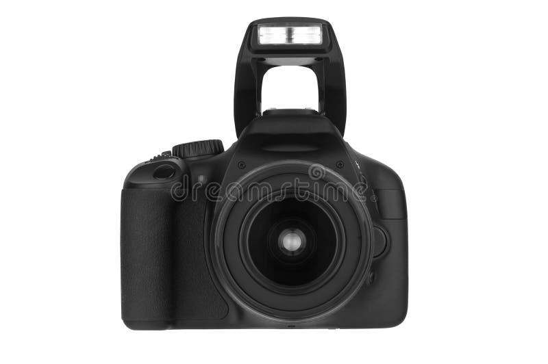 Download Vista DSLR-dianteira (trajeto De Grampeamento) Foto de Stock - Imagem de câmera, vidro: 16851734