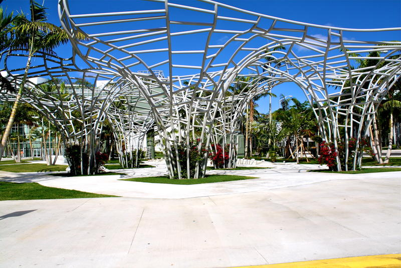 Vista em Miami foto de stock royalty free