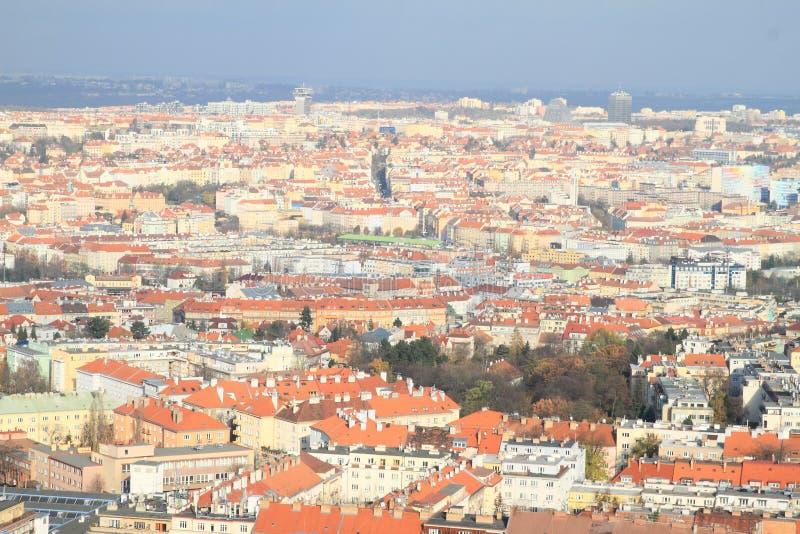 Vista em Praga imagens de stock royalty free