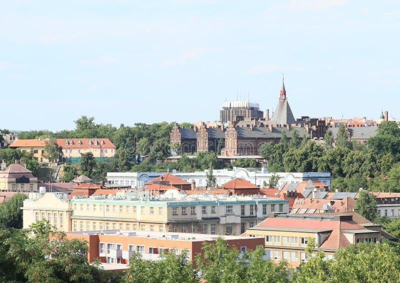 Vista em Praga fotos de stock royalty free