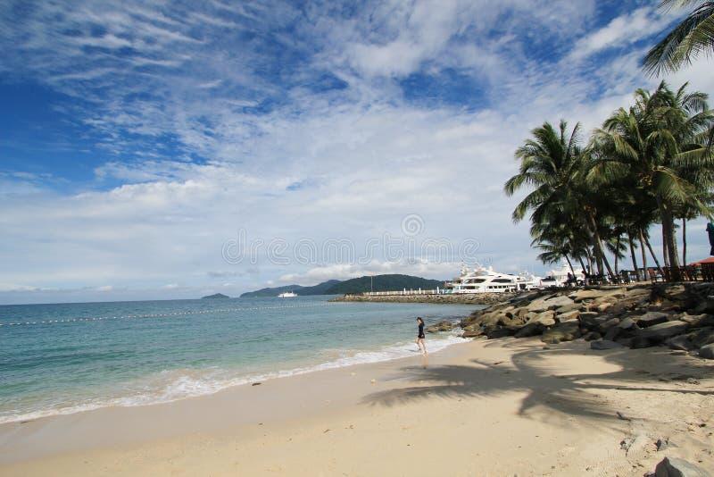 Vista em Sabah em Malásia fotografia de stock